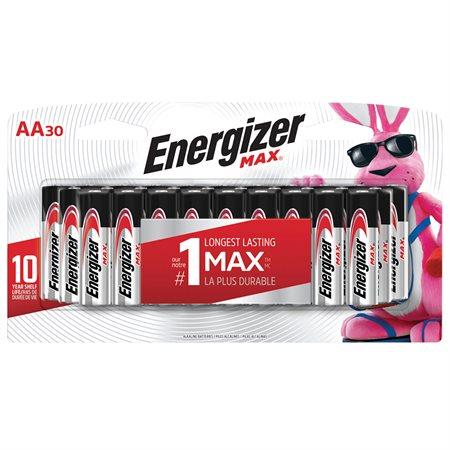 Piles alcalines N Max