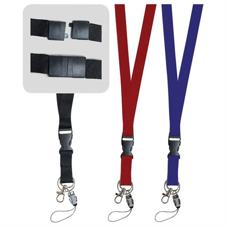 Lanyard with Plastic Clip