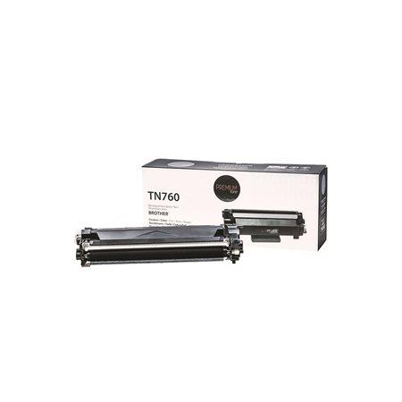 Cartouche de toner à haut rendement compatible Brother TN760