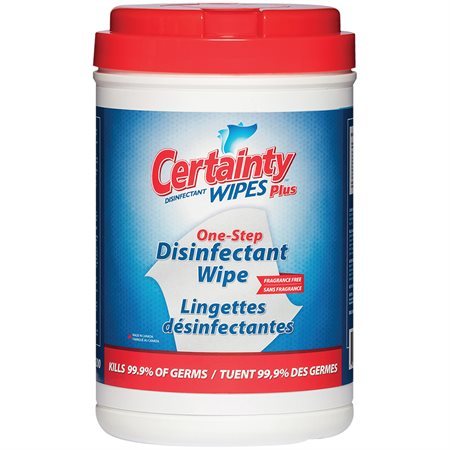 Certainty Plus Disinfecting Wipes