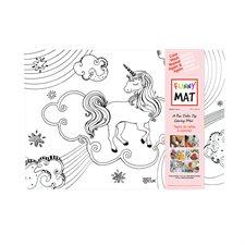 Napperon à colorier Funny Mat®
