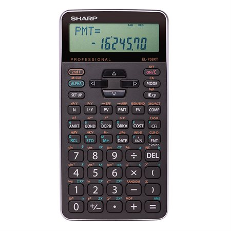 EL-738XTB Financial and Scientific Calculator