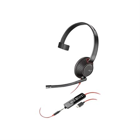 Blackwire 5200 Series Phone Headset