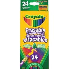 Crayons à colorier en bois effaçables IQ