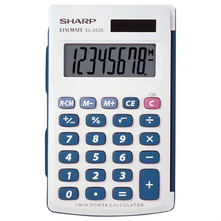 Calculatrice de poche EL-243SB
