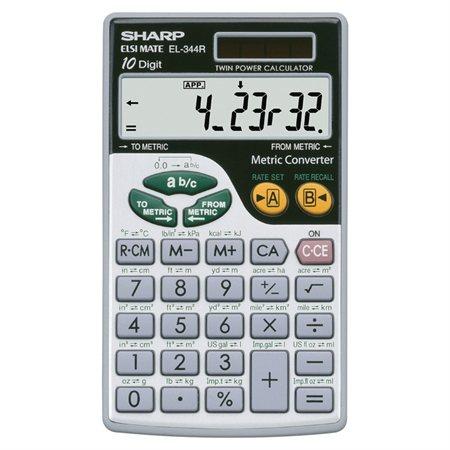 Calculatrice métrique EL-344RB