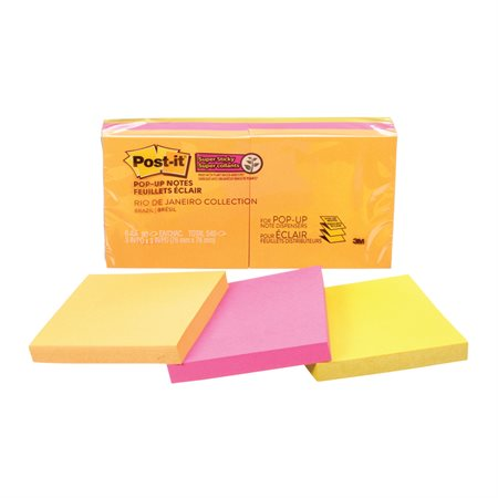 Feuillets éclair super collants Post-it