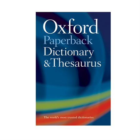 Dictionnaire anglais Oxford Dictionary & Thesaurus