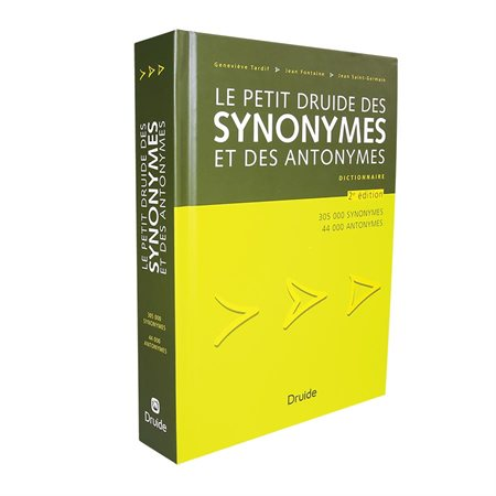 Le Petit Druide des synonymes Dictionary