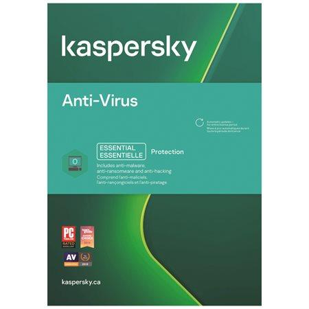 Anti-virus pour 3 usagers