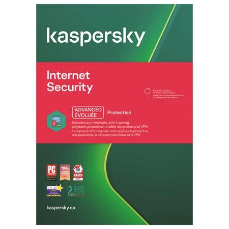 Kaspersky 3 user Internet Security