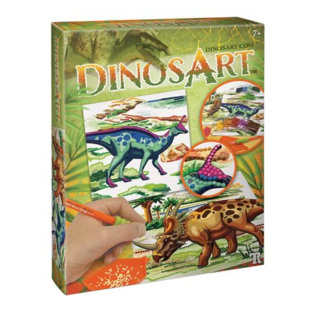 DinosArt Dazzle-by-number